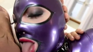 Latex and obscenely hot fetish actions
