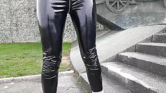 Vinyl PVC Leggings